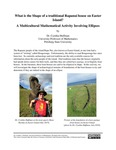 What is the Shape of a traditional Rapanui house on Easter Island? A Multicultural Mathematical Activity Involving Ellipses