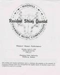 Resident String Quartet
