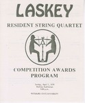 Laskey Resident String Quartet, Competition Awards Program