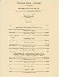 Recital of Pre-college students