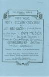 Vintage 1920's Music Concert by Jim Benson