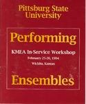 Performing Ensembles - KMEA In-Service Workshop