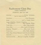 Sophomore Class Day