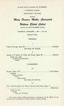Mary Frances Molka, Clarinet and William Elliott, Cello