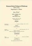 Tana G. Murray, Piano