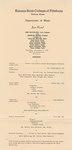 Ann McFarling, Lyric Soprano and Charles Beard, Clarinet