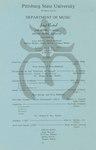 Jaye George, Trombone and William Thomas, Euphonium