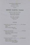 Sidney Harth, Violin