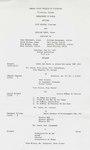 Lois Wilson, Clarinet and William Vance, Tenor