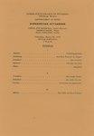 Carol Sue Maxwell, Lyric Soprano and George Mann, Piano and Paul Carlson, Violin