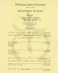 Patricia Flagler-Soprano, James Poulos-Violin, and Gary Green-Piano
