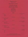 Aaron Shockley, Trombone and Greg Scheetz, Bass Trombone at McCray Recital Hall at 7:30 P.M. Assisted by Alheli Aranda-Piano, Eitel Krohn-Piano, and Barbara York-Piano by Pittsburg State University