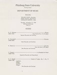William Vance-Recorders, Gene Vollen-Harpsichord, and Carolann Martin-Cello