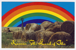 """Kansas """"""""The Land of Ahs"""""""" by Dunlap Post Card Co."""
