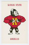Kansas State Gorillas by Collegiate Etchings Co.