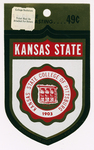 Car Decale of Pittsburg State University Seal by Design Center Color