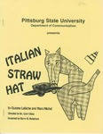 Italian Straw Hat by Pittsburg State University