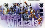 001 Kansas State University Wildcats Basketball 1979-80 program by Ted Watts