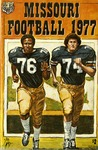 003 Missouri Football 1977 program by Ted Watts