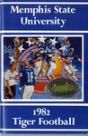 004 Memphis State University Tiger Football 1982 program by Ted Watts