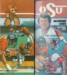 007 Oklahoma State University Football 1982 program by Ted Watts