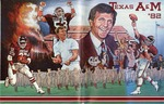 009 Texas A&M University Football 1982 program by Ted Watts