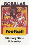 010 Pittsburg State University Football 1983 postcard by Ted Watts