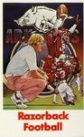 016 University of Arkansas Razorback Football postcard by Ted Watts