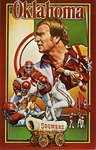 017 University of Oklahoma Sooners Football postcard by Ted Watts