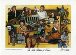 021 The Little Balkans of Kansas 1988 postcard by Ted Watts