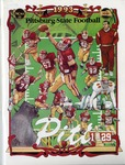 025 Pittsburg State University Football 1993 program by Ted Watts