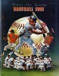 029 Oklahoma State University Baseball 1981 program by Ted Watts