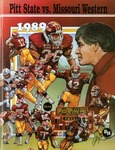 031 Pittsburg State University Football 1989 program by Ted Watts