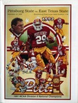 032 Pittsburg State University Football 1992 program by Ted Watts