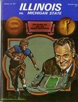 035 University of Illinois Football 1974 program by Ted Watts
