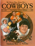 037 Oklahoma State University Football 1983 program by Ted Watts