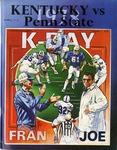 039 University of Kentucky vs. Penn State University Football 1978 program by Ted Watts