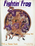 041 Texas Christian University Football 1982 program by Ted Watts