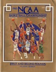 044 NCAA Basketball Championship 1st & 2nd Rounds-GA 1985 program by Ted Watts